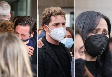 La familia de Álex Casademunt y sus compañeros de 'Operación Triunfo': Estas son las devastadoras imágenes de su último adiós