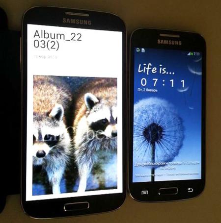 Un Samsung Galaxy S4 mini aparece en escena