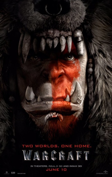 Warcraft Poster Personajes Rojo Orcos