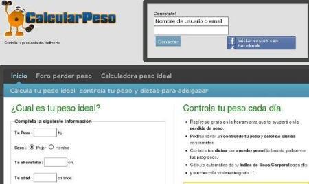 Controla tu peso con CalcularPeso.com