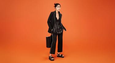 Soft Minimal, el nuevo lookbook de Mango junto a Liu Wen