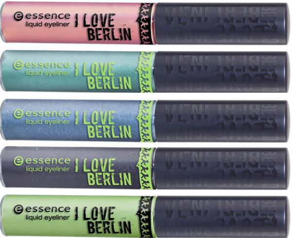 I Love Berlin de Essence, colección de edición limitada para enero 2011