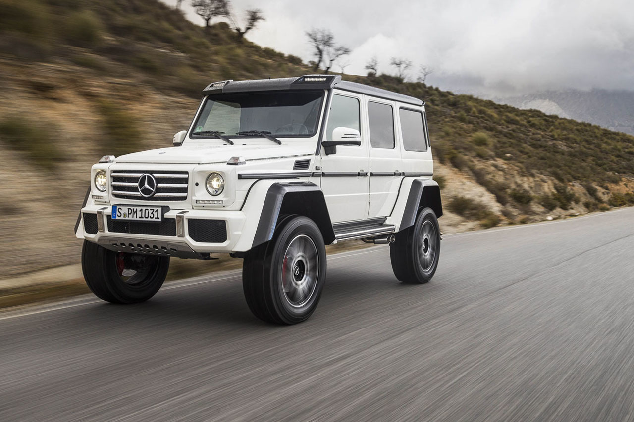 Foto de Mercedes-Benz G 500 4x4², toma de contacto (78/127)