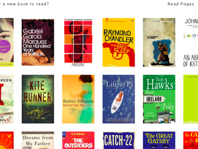 ¿No sabes qué leer y no quieres elegir el libro por su cubierta? Esta web es la solución