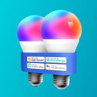 """Gran rebaja en el pack de bombillas """"inteligentes"""" multicolor de Meross para HomeKit en Amazon: 15,99 euros"""