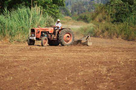 Farmer On Tractor 11284565590urnl
