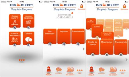 ING Direct app