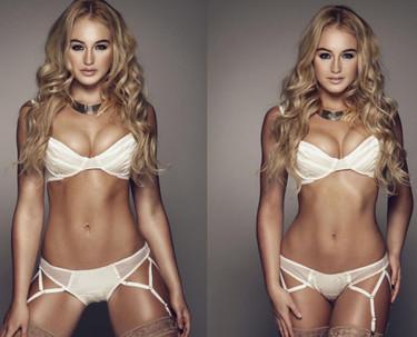 La modelo Iskra Lawrence comparte en Instagram sus fotos retocadas para reivindicar la belleza natural y el 'body positive'