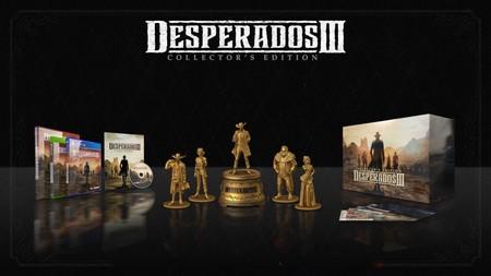 Desperados III se estrenará con una pedazo de edición coleccionista que incluye cinco figuras y mucho más