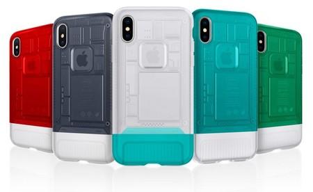Las nuevas fundas para iPhone X de Spigen están inspiradas en el diseño del iMac G3 original