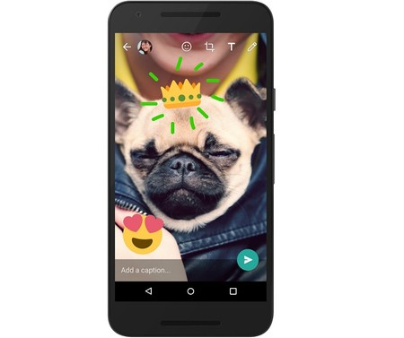 Whatsapp Actualizacion Editar Fotos Snapchat