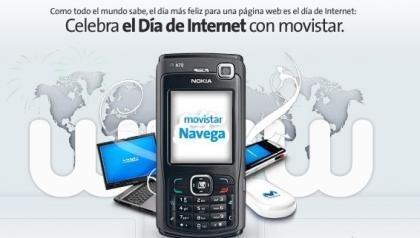 Movistar sortea un N70 en el Día de Internet