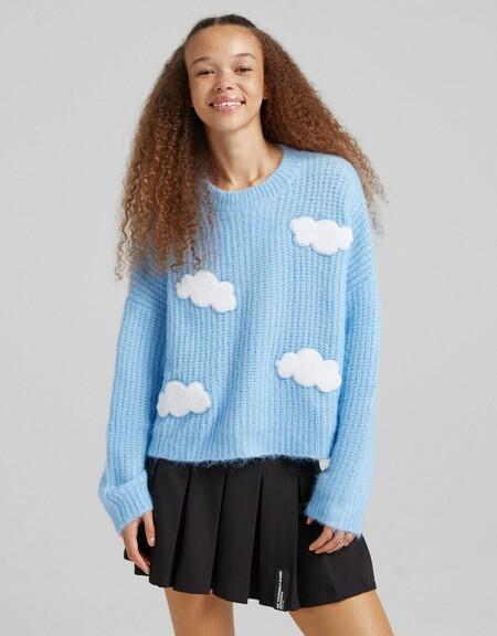 Bershka Jersey Nubes 01