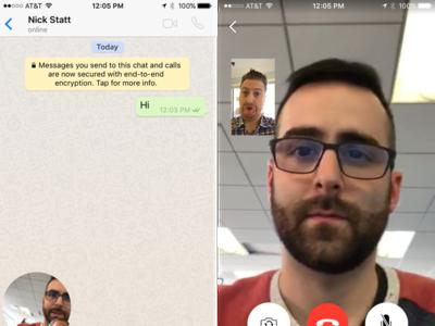 Guerra en las videollamadas: WhatsApp ya las soporta y planta cara a FaceTime