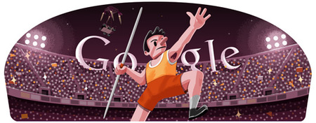 Los doodle de Google en los Juegos Olímpicos de Londres 2012 para ver y jugar con ellos