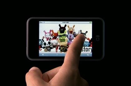 Vídeo: Nuevo anuncio del iPod Touch