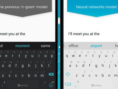 SwiftKey Keyboard comienza a usar las redes neuronales para ofrecer predicciones más precisas