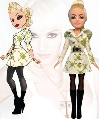 Las muñecas fashion de Gwen Stefani