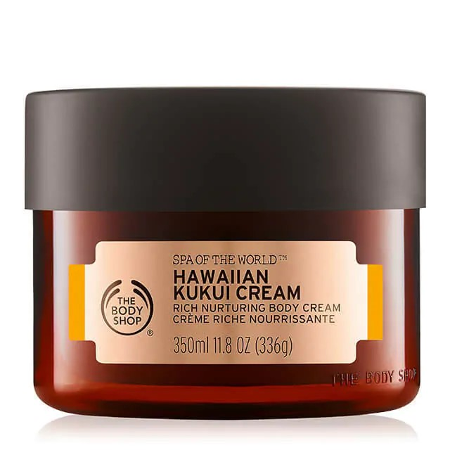 Crema De Kukui De Hawái