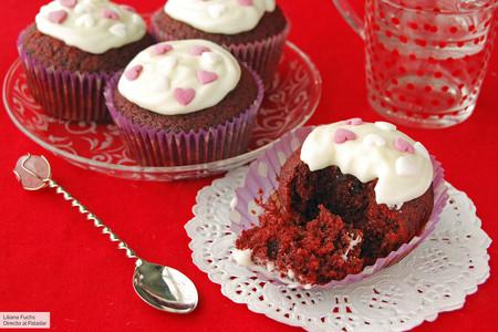 Receta fácil de red velvet cupcakes, pasión dulce para compartir