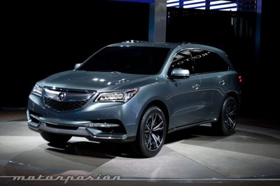 Acura presenta en Detroit el prototipo del futuro MDX
