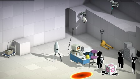 Bridge Constructor Portal ya está disponible en Steam y lo celebra con una ración de gameplay
