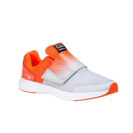 Zapatillas Running Kalenji Easy Niños Naranja/Gris