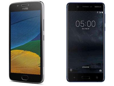 Moto G5 y Nokia 5: así responden dos clásicos a Xiaomi y compañía en la gama más difícil