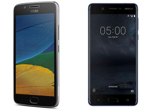 Moto G5 Vs Nokia™ 5