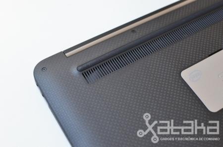 Dell XPS 13 salida aire caliente