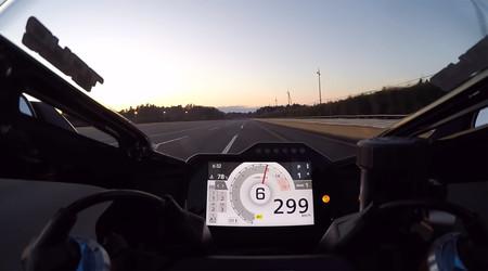 ¡A fondo! Esta Honda CBR1000RR-R-SP Fireblade va más allá de los 300 km/h (a pesar de lo que diga su velocímetro)