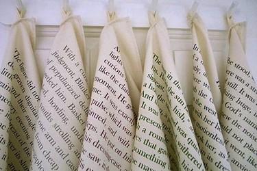 Paños de cocina y delantales muy literarios para tu cocina