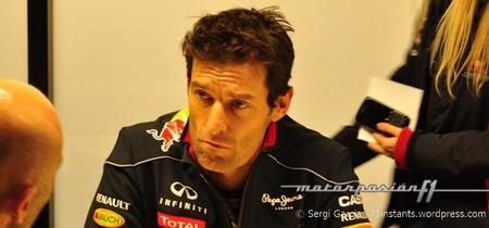 """Mark Webber: """"estamos mejor que el año pasado"""""""