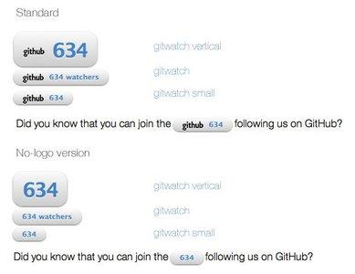 GitHub Watchers: un botón para mostrar cuantos enlaces tienen tus proyectos en GitHub