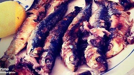 Raciones de chiringuito, las sardinas