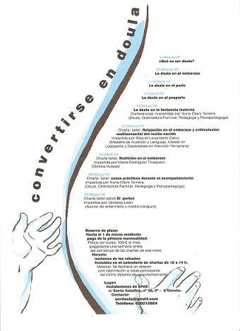 Convertirse en doula en Galicia