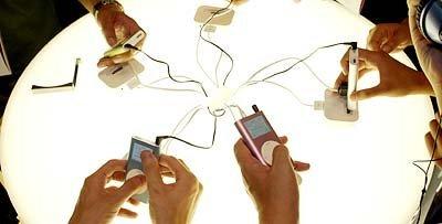 De compras con el iPod