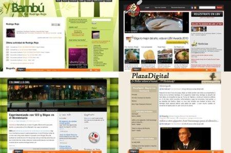 Ejemplos de blogs en Bligoo
