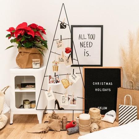 9 árboles de Navidad modernos (y perfectos para casas pequeñas)