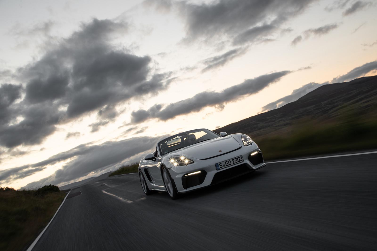 Foto de Porsche 718 Spyder (prueba contacto) (103/296)