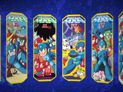 Seis juegos en uno con el lanzamiento para 3DS de Mega Man Legacy Collection