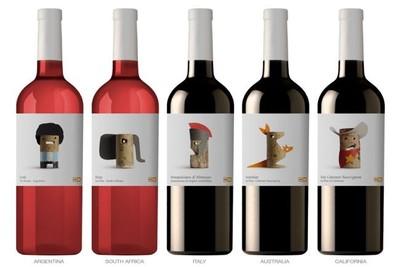 Wines of the world, porque el diseño de las etiquetas de los vinos también es importante