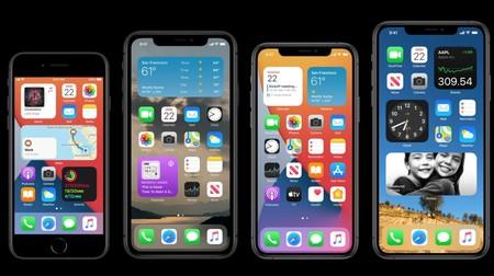 Los widgets se apoderan de iOS 14: la pantalla de inicio los muestra ahora camuflados con el resto de iconos