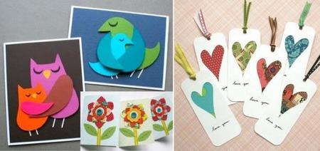 Hazlo tú mismo: bonitos marcalibros y tarjetas para regalar el Día de la Madre