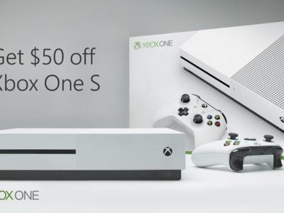 Microsoft no quiere dejar morir sin luchar a su Xbox One S y la rebaja 50 dólares justo antes de presentar Project Scorpio