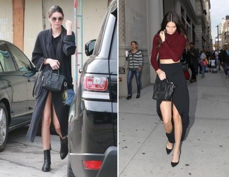 Kendall Jenner Celine Boston Bag Looks