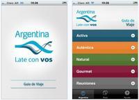 Aplicación viajera oficial de Argentina