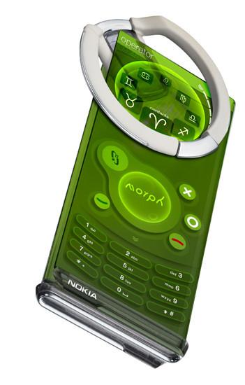 Nokia Morph, concepto de móvil con nanotecnología