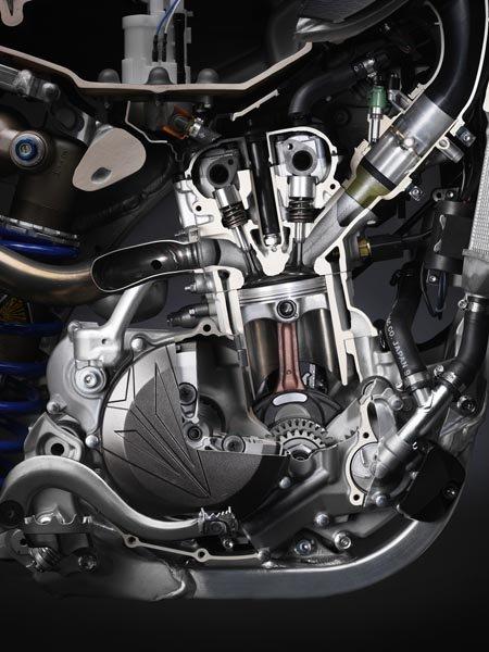 Motor Yamaha YZF 450