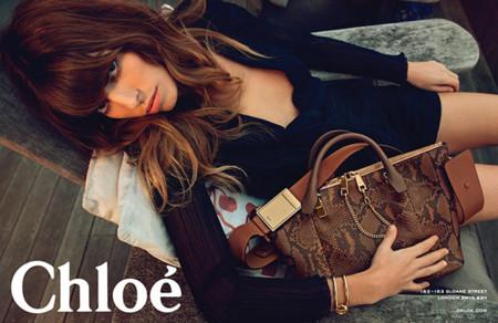 Chloe campaña Primavera Verano 2014 Lou Doillon Julia Stegner Inez Vinoodh